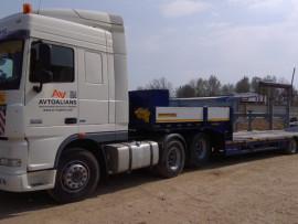 Новая техника для перевозки негабаритных грузов