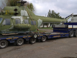 Autoalliance LLC completed the transportation of MI-2 helicopter