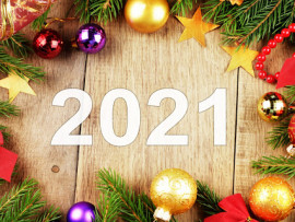Happy New Year 2021 and Merry Christmas!