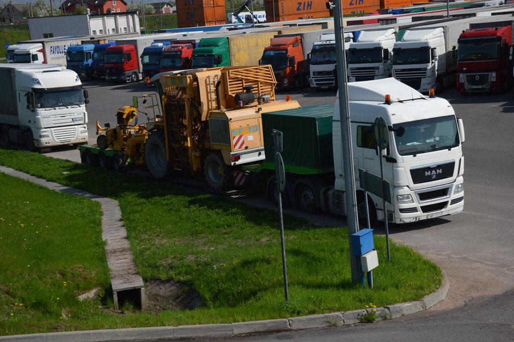 Перевозка негабаритного груза из Германии в Беларусь av-logistics.by