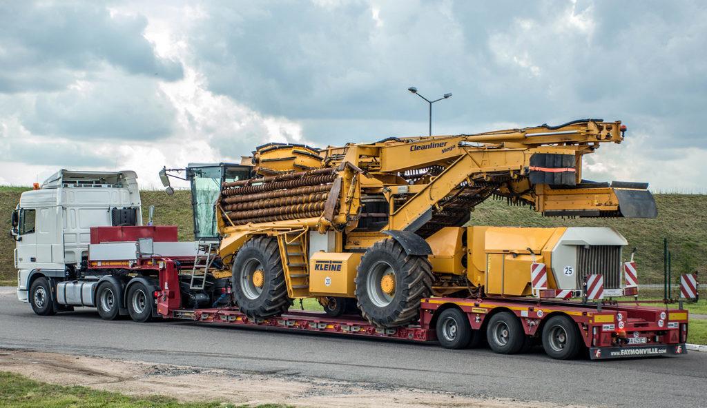 Очередной фотоотчет о перевозке негабаритного груза из Германии av-logistics.by